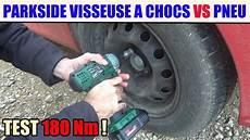 fabriquer une equilibreuse pour roue de voiture devisser visser une roue de voiture test perceuse 224 chocs