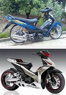 Variasi Motor Revo 110 by Modifikasi Motor Honda Revo Fit Absolute 110 100cc Road