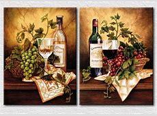 cuadros decorativos para cocina modernos   Licores  Vinos