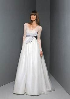 organza straight neckline overlay with v neckline and long sleeves lace empire bodice empire
