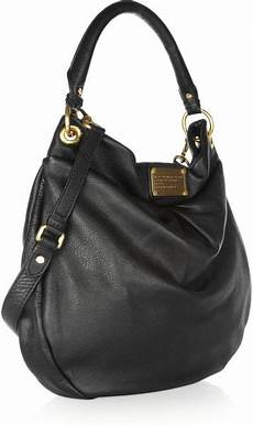 marc by marc the classic q hillier hobo textured