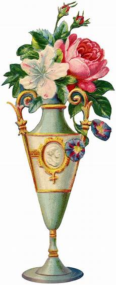 floral vase image the graphics
