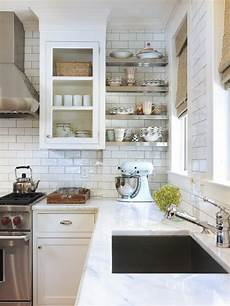 White Tile Backsplash Kitchen Best White Subway Tile Backsplash Design Ideas Remodel