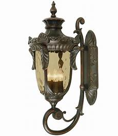 elstead philadelphia 3 light large outdoor wall lantern old bronze up