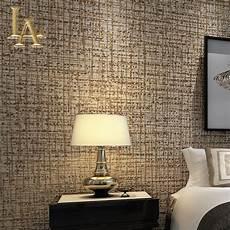 tapete wohnzimmer beige modern solid color flocking textured wallpaper light grey
