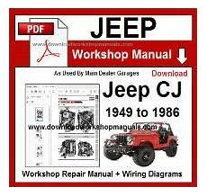 small engine repair manuals free download 2010 jeep commander electronic toll collection jeep workshop manuals