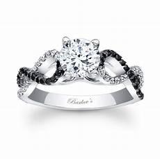barkev s black diamond engagement ring 7714lbk barkev s