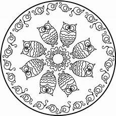 Malvorlagen Mandala Eulen Eulen Bilder Zum Ausmalen Und Ausdrucken