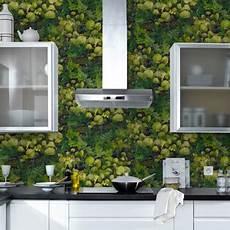 papier peint cuisine intisse motif nature 4murs