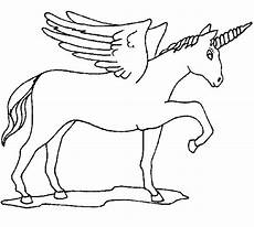 Malvorlagen Wings Unicorn Coloring Unicorn With Wings Picture
