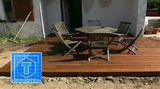 Garten Podest Selber Bauen - holz terrasse selber bauen tooltown heimwerken