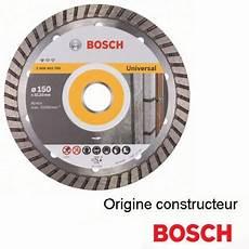 disque diamant turbo 150 mm bosch hd outillage