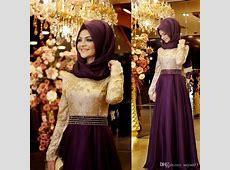 Long Formal Muslim Evening Dress Hijab Islamic Dubai Abaya