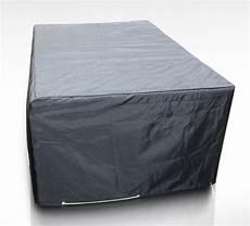 housse d hivernage pour salon de jardin housse pour table de jardin rectangulaire 212 x 112 cm gris