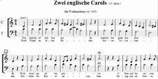 englische weihnachtslieder 2 anonymus noten zum
