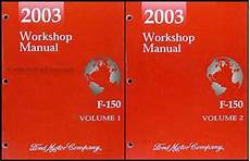 manual repair autos 2003 ford f250 auto manual 2003 ford f 150 repair shop manual original 2 volume set