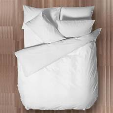 chartwell easy care plain white double bed cover departments diy at b q