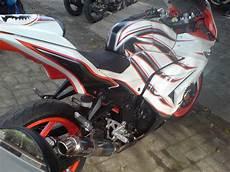 Modifikasi Motor 250 top 8 foto modifikasi motor kawasaki 250 cc