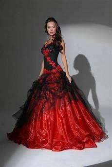 rot weißes brautkleid schwarzes brautkleid f 252 r die moderne braut