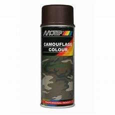 Peinture En Bombe Pour Métal Bombe De Peinture Marron Camouflage Motip M04205 400 Ml