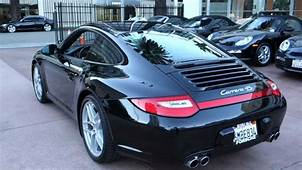 2010 Porsche 911 Carrera 4S Coupe PDK Black On Full