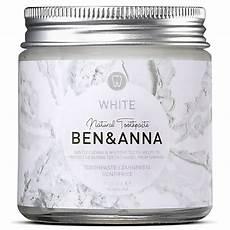 ben toothpaste white zahnpasta im glas