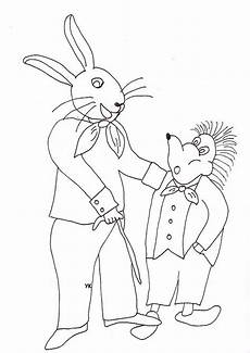 Ausmalbild Hase Und Igel Ausmalbilder Hase Klopfer Malvorlagentv