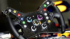 F1 The Steering Wheel Of Sebastian Vettel S Bull Rb9