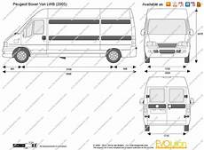 peugeot boxer dimensions the blueprints vector drawing peugeot boxer lwb