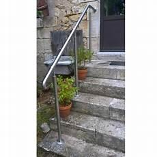 Rambarde D Escalier Exterieur Re D Acc 232 S Inox En Kit Avec Bague Pour Escalier
