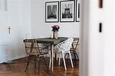 essecke modern unsere essecke mit betontisch stuhlmix tisch und