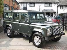 land rover defender 110 td5 xs station wagon 9 seater