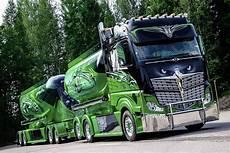 Maße Renault Trafic - highway truck tuning in verde e nero professione