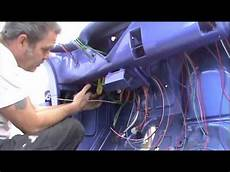 1955 chevy pu daves day 1 begin installing the new wiring system youtube