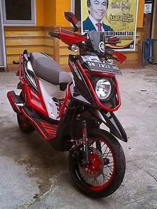 Motor X Ride Modif by Gambar Modifikasi Motor Yamaha X Ride Terbaru Seputar