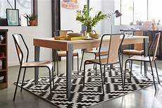 tapis salle a manger geometrix tapis noir et blanc salle 224 manger d 233 coration d 233 co maison alin 233 a tapis