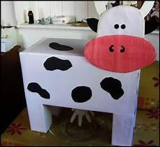 como hacer una vaca de material reciclado vaca en material nunaideas peques vaca orde 241 ar con materiales reciclados