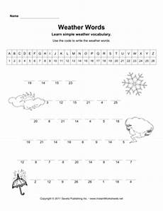 weather words worksheets 14703 12 best images of weather math worksheets printable weather worksheets weather words