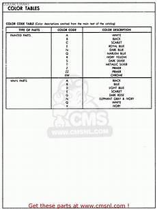 1974 cb550 wiring diagram honda cb550 k2 four 1976 usa color chart schematic partsfiche