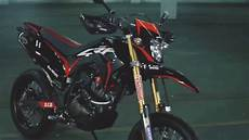 Modifikasi Honda Crf 150 Supermoto by Modifikasi Honda Crf 150 L 2017