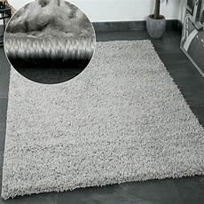 teppich hochflor shaggy teppiche langflor grau wohnzimmer