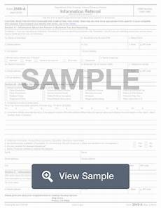 irs form 3949 a fill out online how to report tax fraud formswift