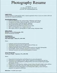 sle photographar resume resume exles in 2019 photographer resume resume template free