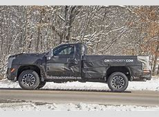 New 2020 Silverado HD Work Truck Spy Pictures   GM Authority