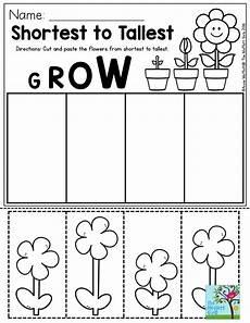 plants measurement worksheets 13586 pin on kinder math