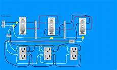 need diagram help easiest way to wire split receptacles 4 way switch doityourself com