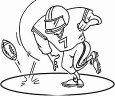 free printable football coloring pages for best