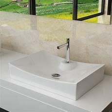 Design Keramik Waschschale Aufsatz Waschbecken Tisch