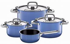 wmf silit nature 7 cookware set nature blue made in