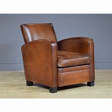 club chair le normandie leather club armchair made in